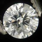 Vit (H) Diamant 0,34 Ct Brilliant 4,35x2,95 mm SI3
