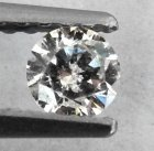 Vit (G-H) Diamant 0,19 Ct Brilliant 3,75x2,2 mm SI-I