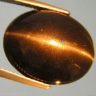 Skapolit Cat Eye 20,33 Ct Oval Cab 17,8x14,15x11,05 mm
