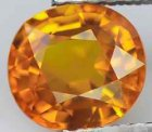 Guldgul Safir 1,68 Ct Oval 7x6,36x4,11 mm VVS