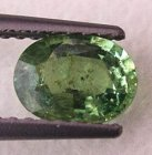 Demantoid Granat 0,94 Ct Oval 7x5,2x3 mm VS-SI
