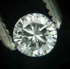 Vit (H) Diamant 0,22 Ct Brilliant 3,80-3,71x2,39 mm SI