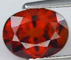 Spessartit Granat 2,36 Ct Oval 8,05x6,09x5,02 mm VVS-VS