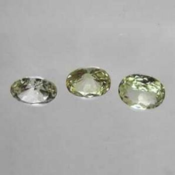 LOT 3 st Krysoberyll 0,92 Ct Oval 4,9x3,9-4,7x3,7 mm VVS-VS