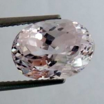 Kunzit 7,21 Ct Oval 12,7x9,2x8,8 mm VVS-VS