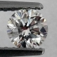 Vit (G-H) Diamant 0,42 Ct Brilliant 4,65x3,05 mm SI