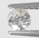 Mycket Bra Lyster Vit (Crystal) Diamant 0,22 Ct Brilliant Slipning Kvalitet SI