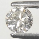 Mycket Bra Lyster Vit (Crystal) Diamant 0,27 Ct Brilliant Slipning Kvalitet SI-I
