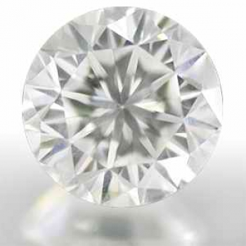 LOT 5 st Vit (H) Diamant 0,10 carat Brilliant Slipning 1,7 mm Kvalitet SI