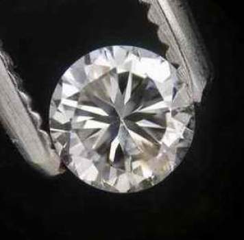 Vit (G-H) Diamant 0,26 Ct Brilliant 4,06-4,02x2,52 mm SI
